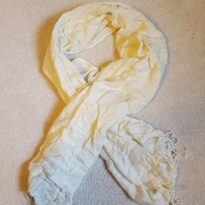 Basic Cream Colored Scarf